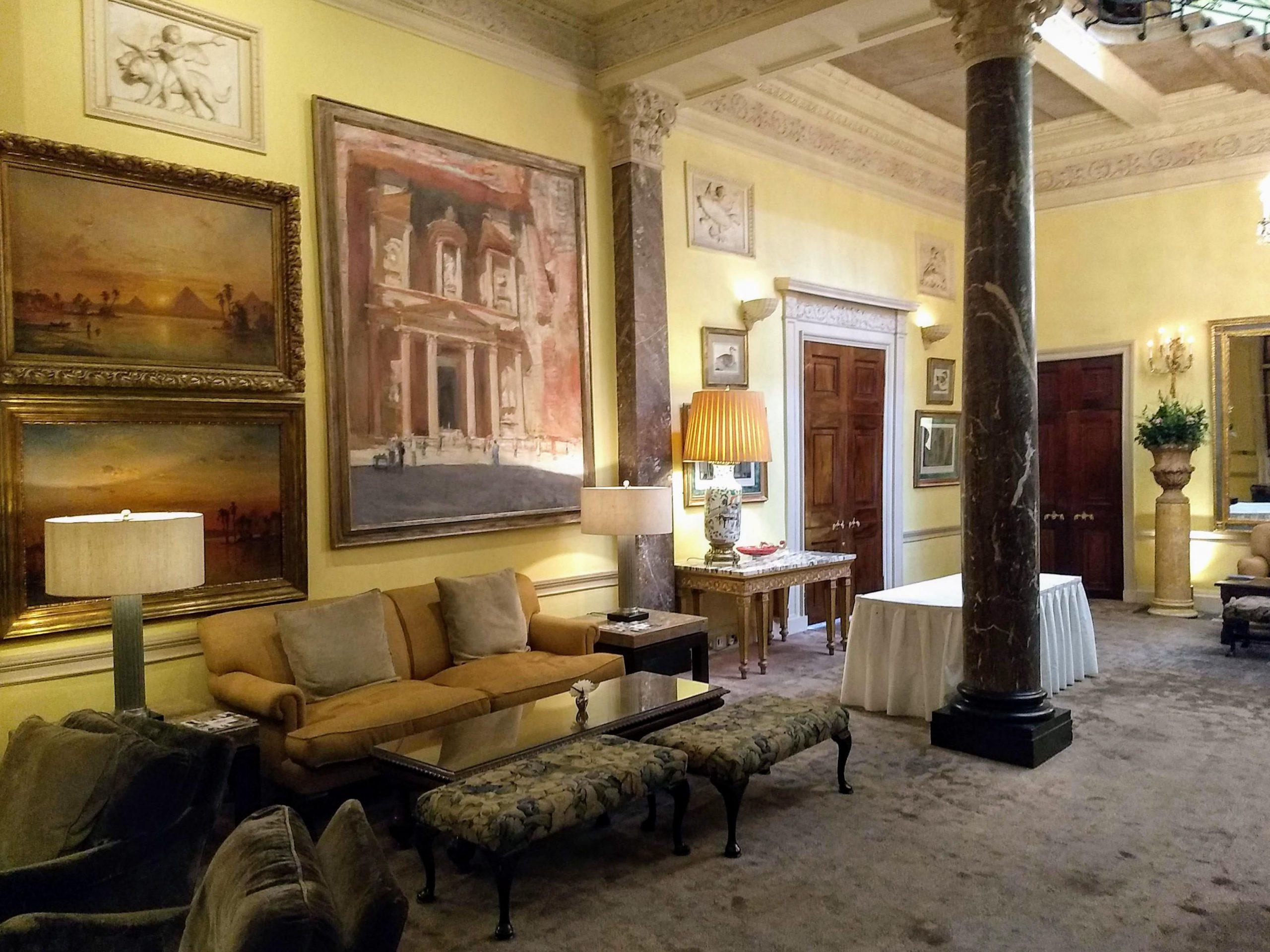 hotel lounge ruimte